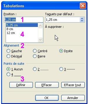 Lilapuce tout sur les tabulations - Comment faire une brochure sur open office ...