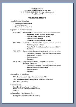 resume template openoffice