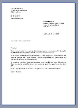lettre word modèle Lilapuce   Modèle tête de lettre (version réalisation) lettre word modèle