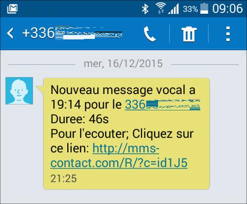 Lilapuce phishing par sms - Recevoir les sms d un autre portable ...