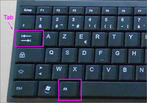 Lilapuce param tres d affichage windows 7 for Les parties du clavier